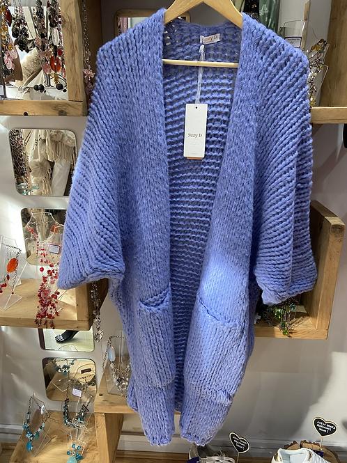 Suzy D chunky knit cardy