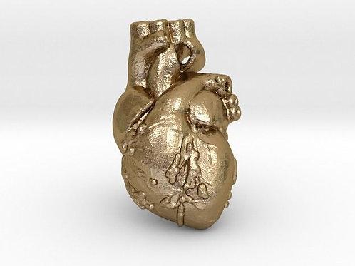 Human Heart Pendant
