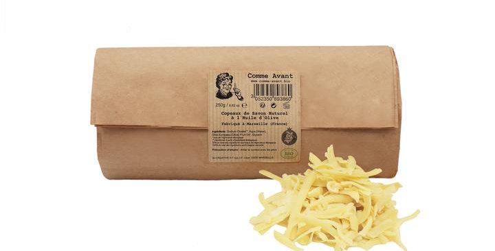 Copeaux de Savon Naturel à l'Huile d'Olive - 250 gr