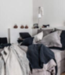 linge de lit couleur chanvre