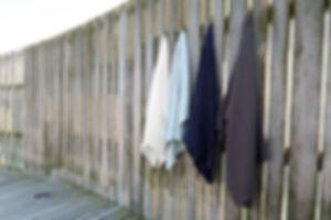 serviettes de bain en coton bio