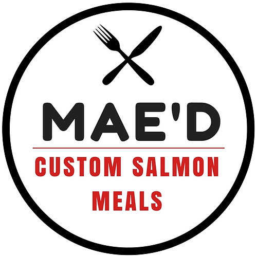 Custom Mae'd 6 oz. Salmon Meal