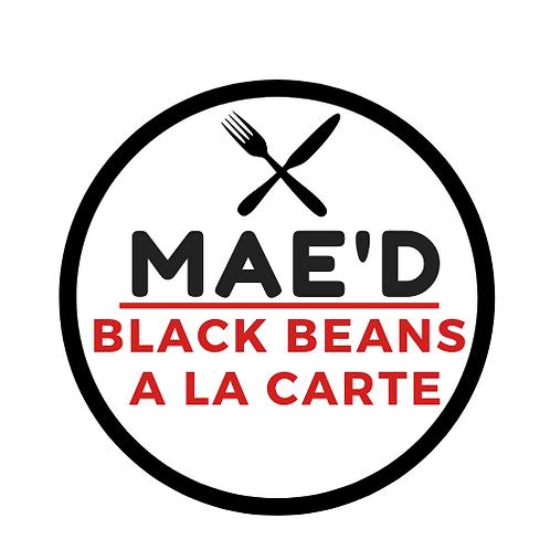 Mae'd Black Beans a la carte