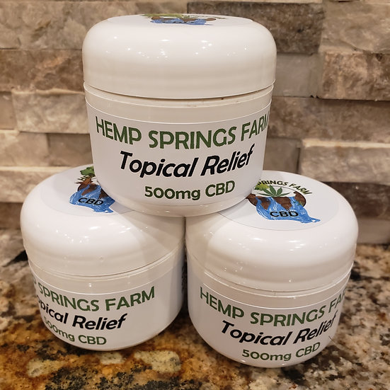 TOPICAL PAIN RELIEF CREAM
