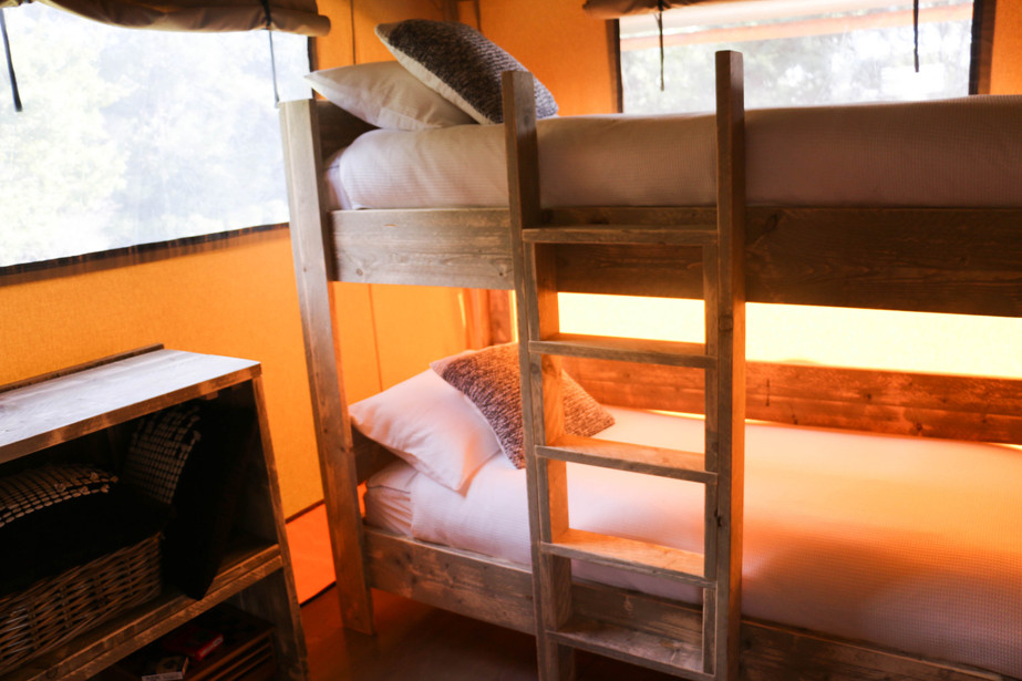 The bunk room.