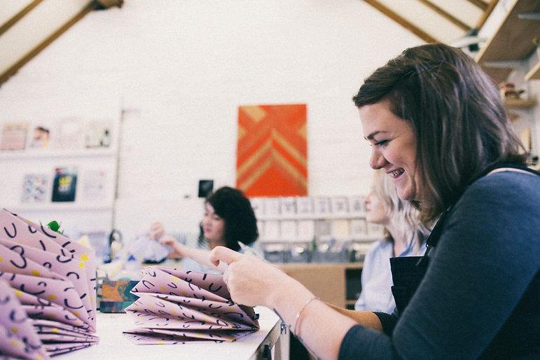 Origami Est folding workshop