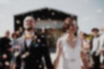 Helen Plus David | Boho DIY wedding at parent's farm, Manchester, UK