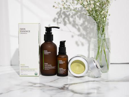 My go-to skincare routine? Skin Essence Organics!
