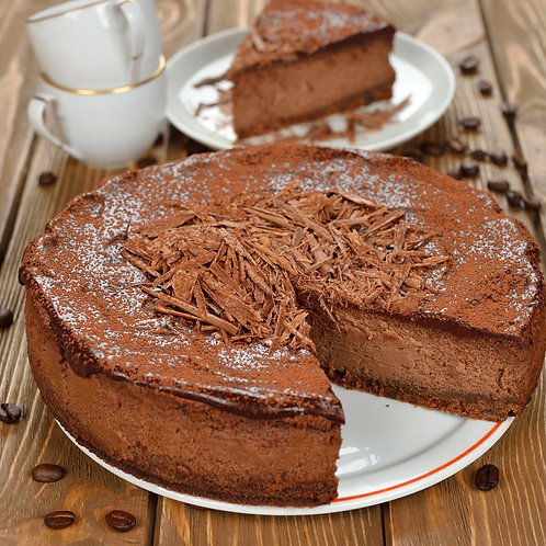 Peanut Chocolate Cheesecake
