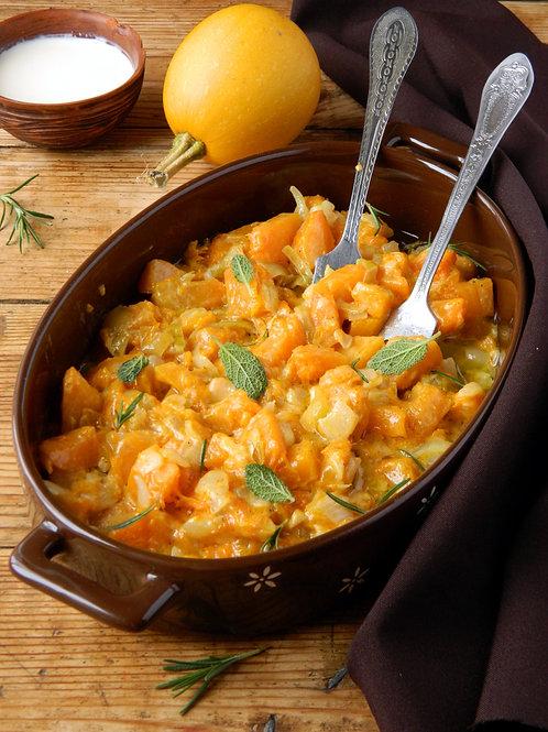 Summer Squash Orange African inspired stew
