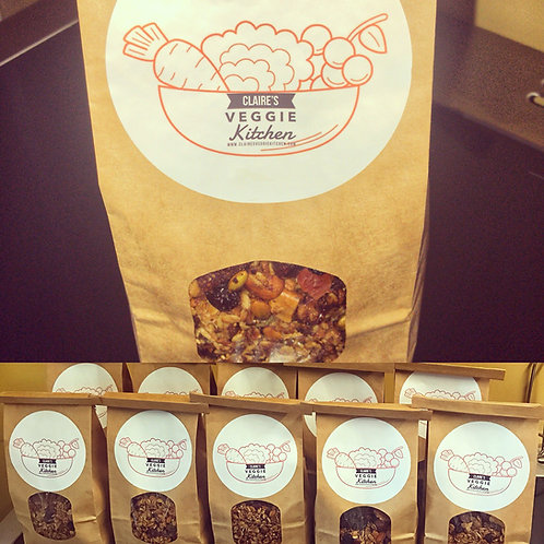 Deluxe Nutty Granola 500g