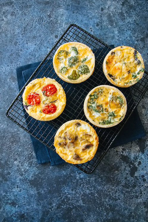 Veggie Quiche Mini x 4