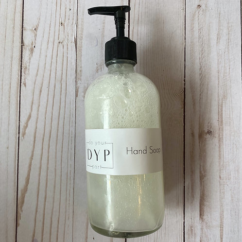 All Natural Hand Soap