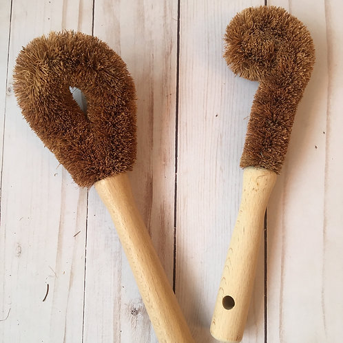 Eco-friendly Tampico Bottle Brush & Pan Scrubber