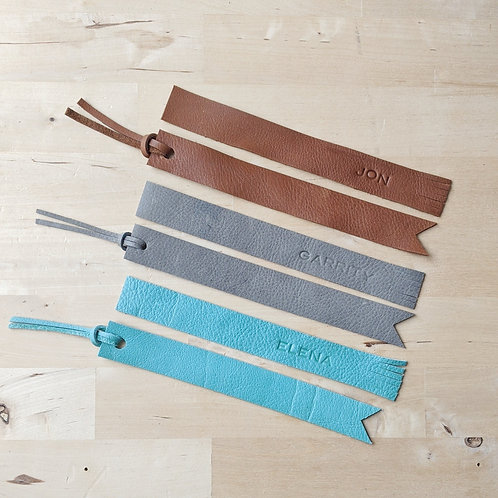 HerLeather Co. Bookmarks