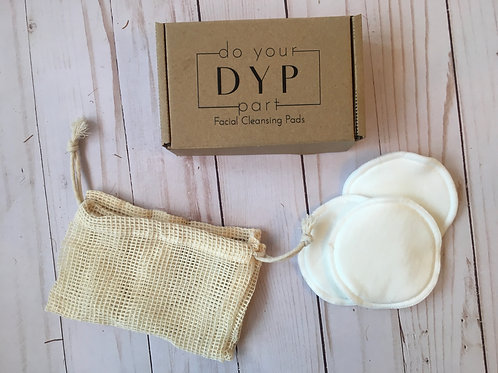 Eco-Friendly Cotton Facial Cleansing Pads