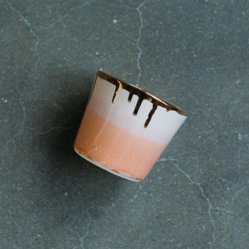 Ceramic Tumblers- 22k Gold