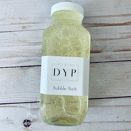 Chemical-Free, Gentle Bubble Bath