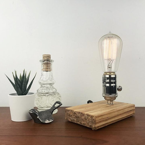 Recycle Bamboo Edison Light