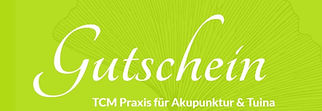 Gutschein Tuina-Massage, TCM Praxis Luzern