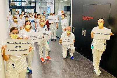 Notfallzentrum Luzerner Kantonsspital Covid-19