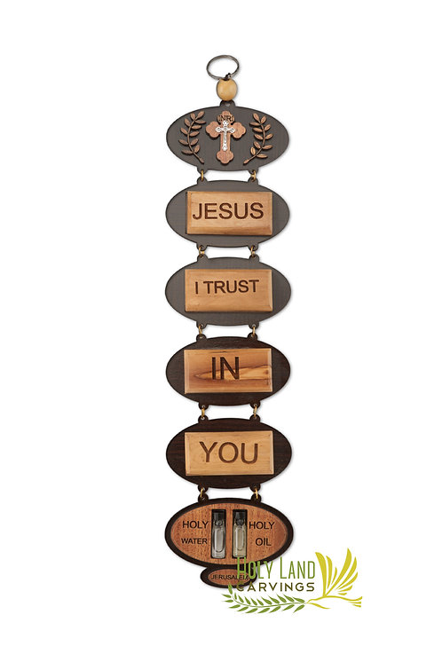Jesus I Trust in You Wall Décor