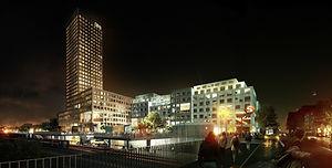 Bohrs_tårn_-_Levering_af_stålkonstruktio