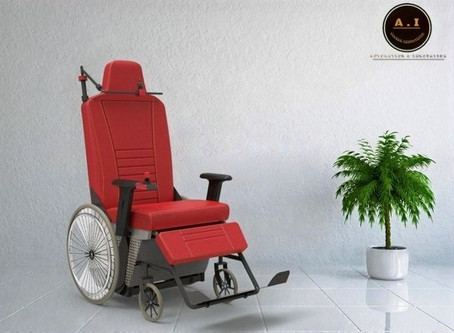 The AI Electric Wheelchair