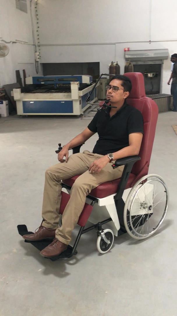 The AI - Quadriplegic Wheelchair