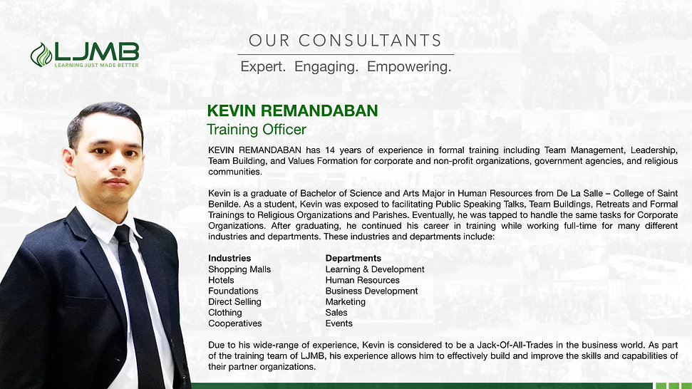 LJMB - Company Profile - Training Consul
