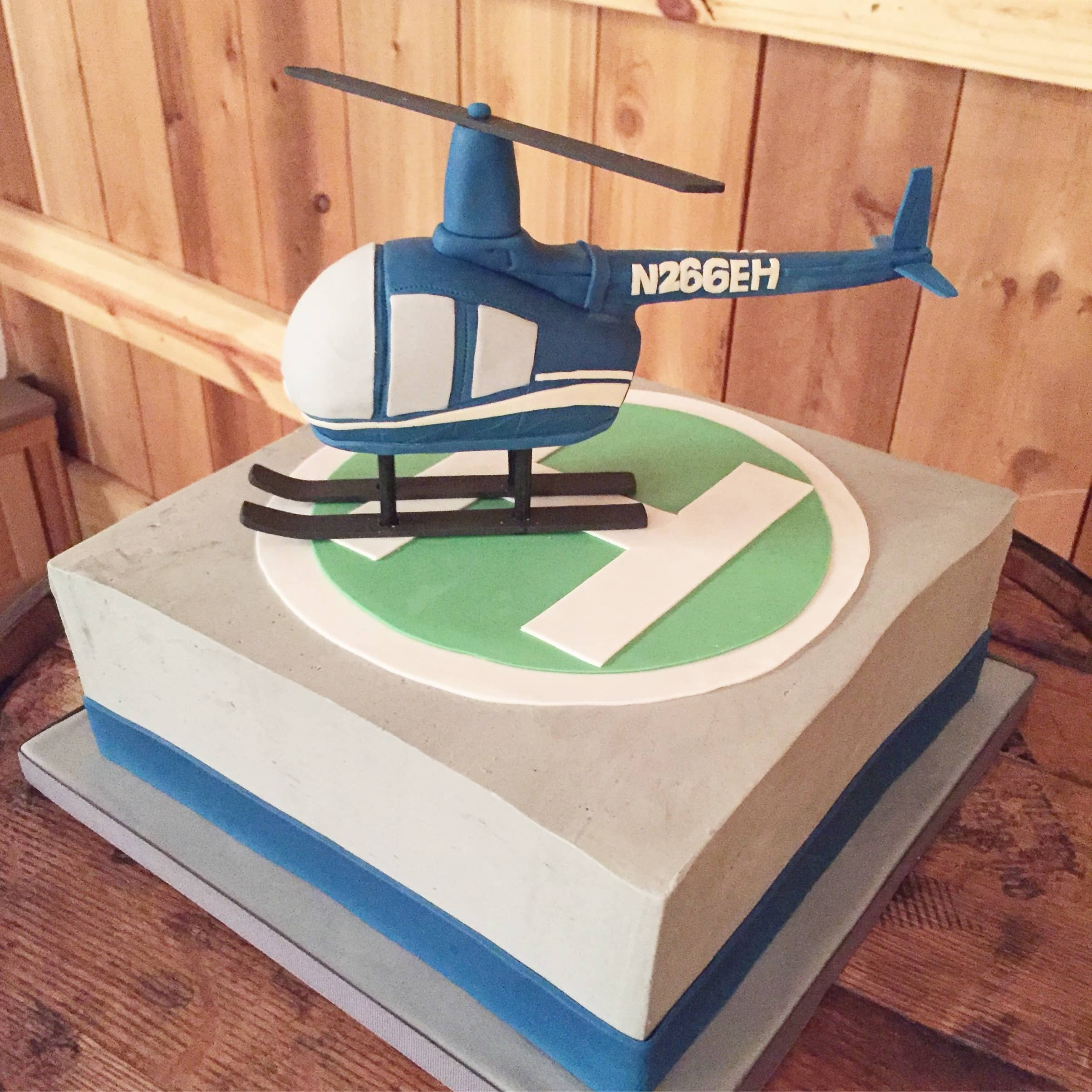 HelicopterCake