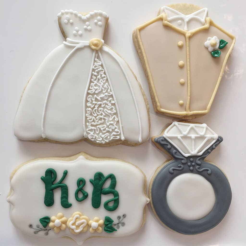 WeddingShowerCookies