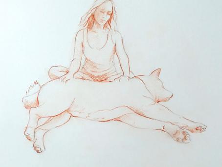Equilibre émotionnel commun - Méditer avec son chien
