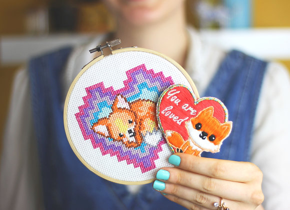 Fox lovers craft kit bundle