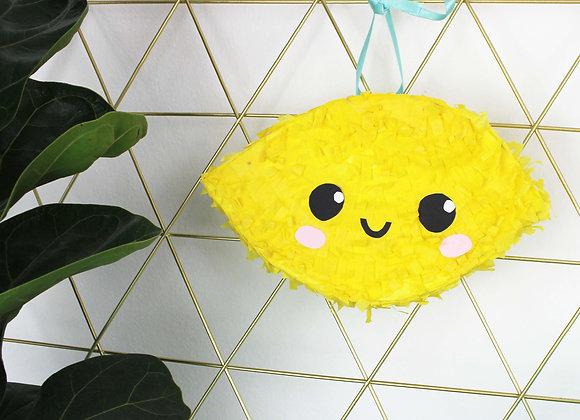 Lemon Mini Pinata Kit