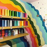 Rainbow home studio
