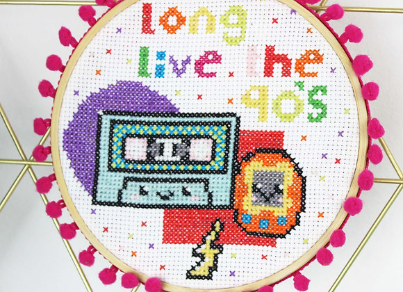 Long live the 90's cross stitch kit