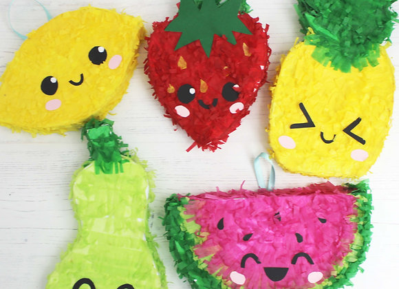 Fruit salad mini pinata kit bundle