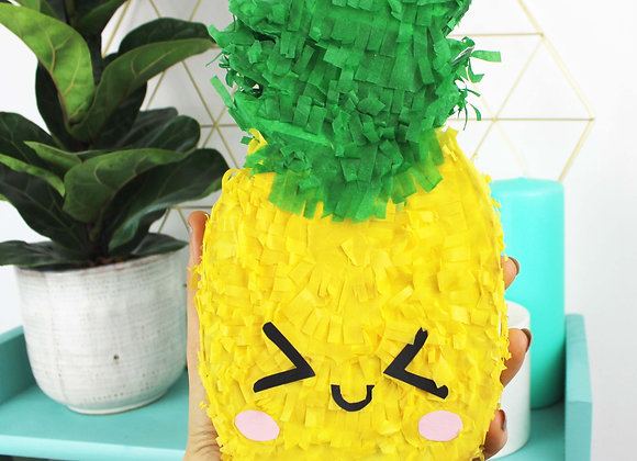 Pineapple mini pinata kit