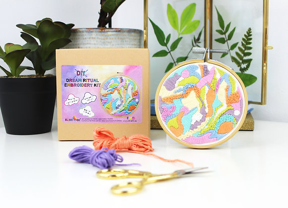 Dream ritual embroidery kit