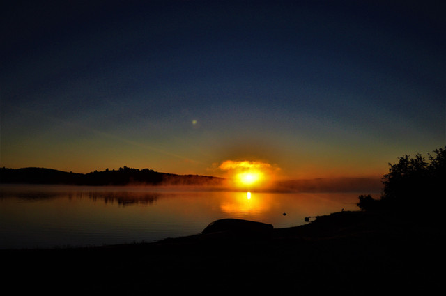 Photo, Algonquin sunrise
