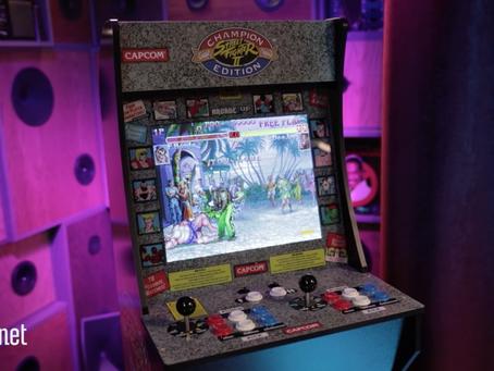 Arcade1Up Street Fighter machine is a retro blast to build