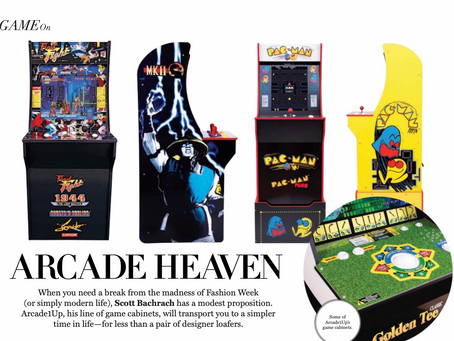 ARCADE1UP FOUNDER, SCOTT BACHRACH, CREATES AN AFFORDABLE AT-HOME ARCADE EXPERIENCE