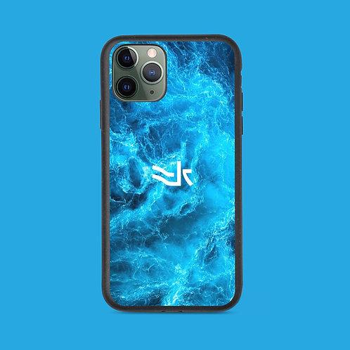 水 Biodegradable phone case.