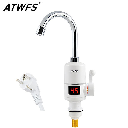 Kitchen Faucet with Instant Hot Water Heating -Digital Temperature Display