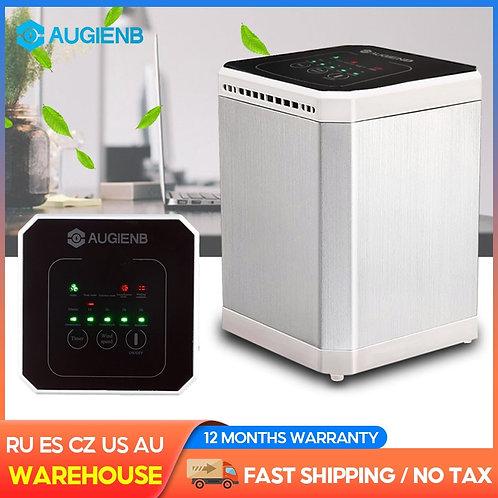 AUGIENB Air Purifier  -HEPA-Negative Ion -5 Hour Timer -Fresh Air for Desktop