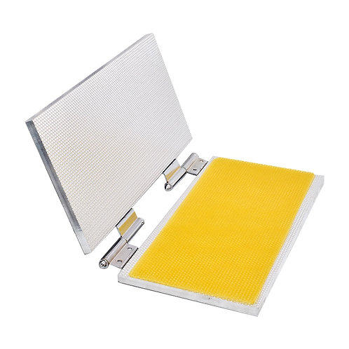 Beeswax Sheet Mold Machine -5.4mm Cell Size with Comb Tool for Beekeeping
