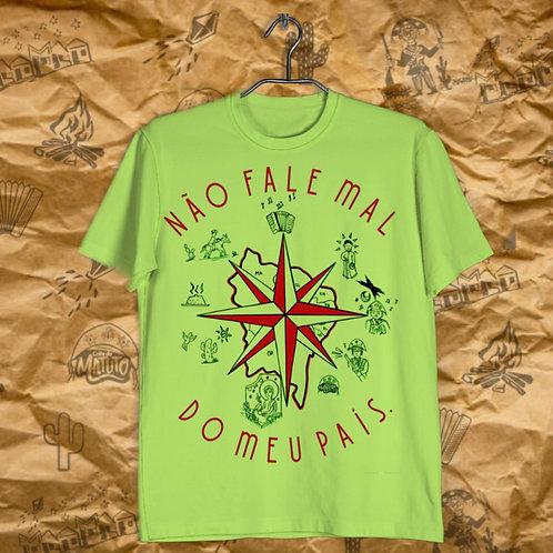 Camiseta Não fale mal do meu País