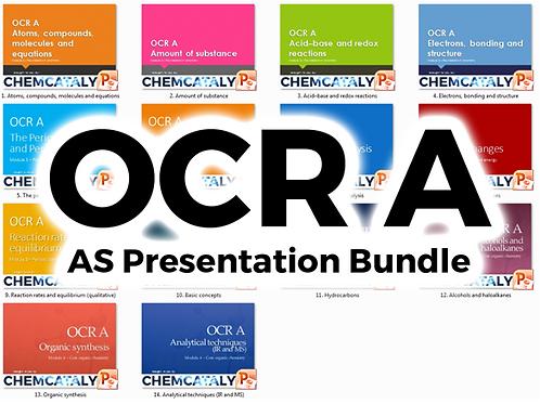 OCR A AS Presentation Bundle