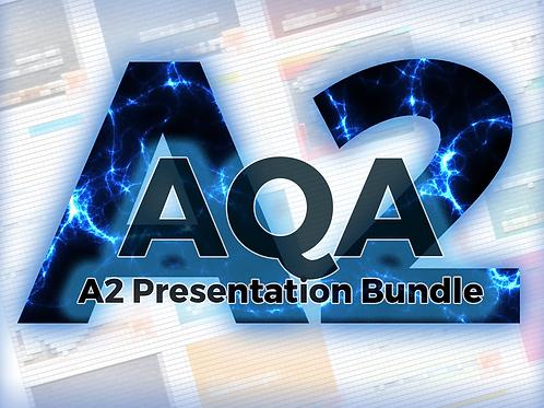 AQA A2 Presentation Bundle